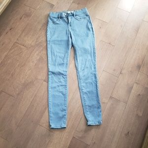 PACSUN high-rise jeggings /25 light wash jeans